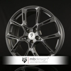 Mb design KX1 Blank Grå / Poleret(KX18520455E1-G4)