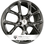 Mb design KX1 Grå Seidenmatt(KX18520455E1-GP1)