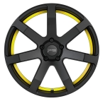 Corspeed Corspeed challenge Mattblack Puresports / undercut Color Trim gelb(4251118704472)
