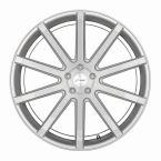 Corspeed Corspeed deville Silver-brushed-Surface/ undercut Color Trim wei?(4251118738736)