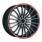 Corspeed Corspeed le mans Mattblack-polished / Color Trim rot(4251118714471)