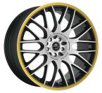 Barracuda Karizzma Mattblack-polished / Color Trim gelb(4251118700085)
