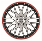 Barracuda Karizzma Mattblack-polished / Color Trim rot(4251118700078)