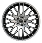 Barracuda Karizzma Mattblack-polished / Color Trim RAL(4251118700108)