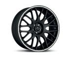 Barracuda Karizzma Mattblack-polished / Color Trim weiss(4251118700092)
