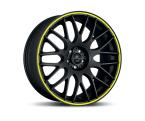 Barracuda Karizzma Mattblack Puresports / Color Trim gelb(4251118700023)