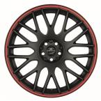 Barracuda Karizzma Mattblack Puresports / Color Trim rot(4251118700016)