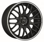 Barracuda Karizzma Mattblack Puresports / Color Trim weiss(4251118700030)