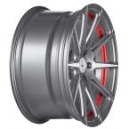 Barracuda Project 2.0 Mattgunmetal/ undercut Color Trim rot(4251118740241)