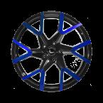 Barracuda Project 3.0 Black gloss Flashblue(4251118743280)