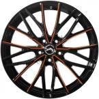 Barracuda Project 3.0 Black gloss Flashorange(4251118742986)