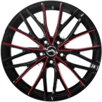 Barracuda Project 3.0 Black gloss Flashred(4251118742382)