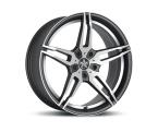 Barracuda Starzz Mattblack-polished / undercut Color Trim weiss(4251118702584)