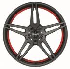 Barracuda Starzz Mattblack Puresports / undercut Color Trim rot(4251118702393)