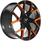 Barracuda Tzunamee evo Black gloss Flashorange(4251118742856)