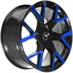 Barracuda Tzunamee evo Black gloss Flashblue(4251118743150)