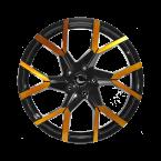 Barracuda Tzunamee evo Black gloss Flashgold(4251118742559)
