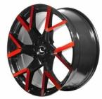 Barracuda Tzunamee evo Black gloss Flashred(4251118742252)