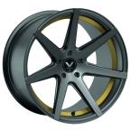 Barracuda Virus Gunmetal/ undercut Color Trim gelb(4251118740135)