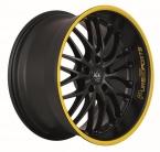 Barracuda Voltec t6 Mattblack Puresports / Color Trim gelb(4251118703376)