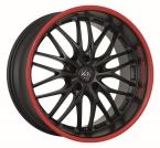Barracuda Voltec t6 Mattblack Puresports / Color Trim rot(4251118703369)