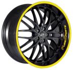 Barracuda Voltec t6 suv Mattblack Puresports / Color Trim gelb(4251118704243)