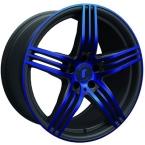 Rondell 0217 ELPHO Black, Glossy Blue Elpho polish(A924467)