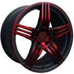 Rondell 0217 ELPHO Black, Glossy Red Elpho polish(A924464)