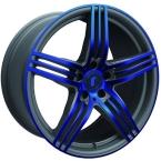 Rondell 0217 ELPHO Grey, Glossy Blue Elpho polish(A924479)