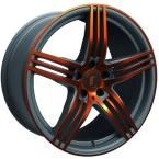 Rondell 0217 ELPHO Grey, Glossy Orange Elpho polish(A924482)