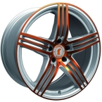 Rondell 0217 ELPHO Silver, Glossy Orange Elpho polish(A924506)