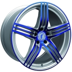 Rondell 0217 ELPHO Silver, Glossy Blue Elpho polish(A924503)