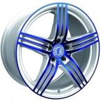 Rondell 0217 ELPHO White, Glossy Blue Elpho polish(A924491)
