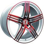 Rondell 0217 ELPHO White, Glossy Red Elpho polish(A924488)