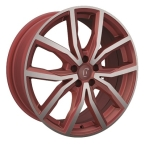 Rondell 02RZ Metallic-Rot-Matt poliert(A898401)