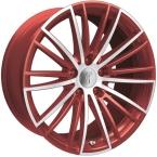 Rondell 08RZ Metallic-Rot-Matt poliert(A922922)