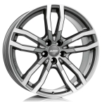 Alutec DriveX metal-grey frontpoliert(DRVX-85928PO17-91)