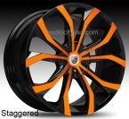 Lexani Lust Orange / Sort(Lexani-Lust.9022510045OB)