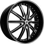 Lexani LX-20 Sort / Poleret(Lexani-LX20.7518410040)