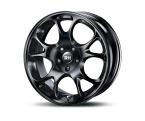 RH Alurad AE Tecnic racing schwarz lackiert(AE75655511240 A)