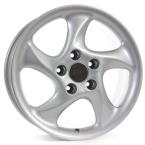 RH Alurad AH Turbo SPORT-Silber lackiert(AH90756011201 A)