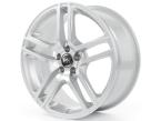 RH Alurad BE Twin SPORT-Silber lackiert(BE80756011201)