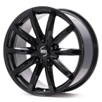RH Alurad GT schwarz glanz lackiert(GT859545112G48)