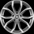 RH Alurad DF Energy SPORT-Silber lackiert(DF706535112G01)
