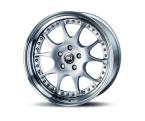 RH Alurad MK Dynamik silber/Horn hochgl.pol.(MK80855411208)