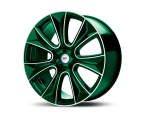 RH Alurad NAJ II color polished - green(NAJII1022540120D28)