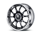 RH Alurad RMK Dynamik schwarz/Horn Edelsstahl(RMK10956211267)