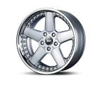 RH Alurad RAM (X)-Rad silber/Horn Edelstahl(RAM108530120D07)