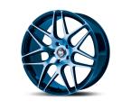 RH Alurad RB11 color polished - blue(RB111022535114G31)