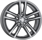 Rial uniwheels x10x Metal Grey(420642)